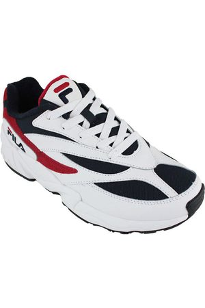 Fila Zapatillas v94m low white/navy/red para mujer