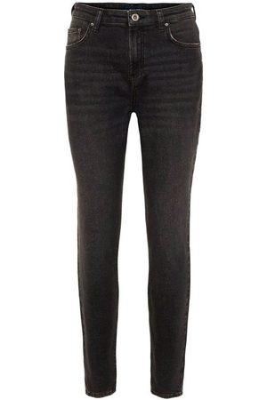 Pieces Jeans Ankle Length Mom Jeans de para mujer
