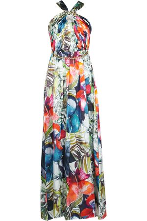 Guess Vestido largo SUPERBLOOM GOWN para mujer