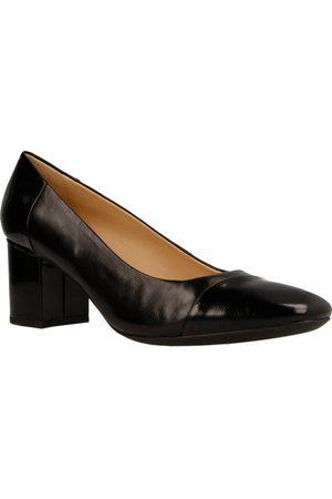 Geox Zapatos de tacón D NEW SYMPHONY MID para mujer