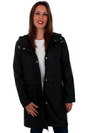 Vero Moda Cortaviento 10206601 VMFRIDAY 3/4 COATED JACKET BLACK para mujer