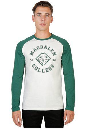Oxford University Camiseta manga larga - magdalen-raglan-ml para hombre