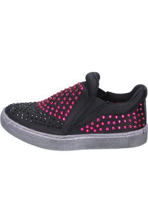 Lulu Zapatos slip on textil strass BT332 para niña