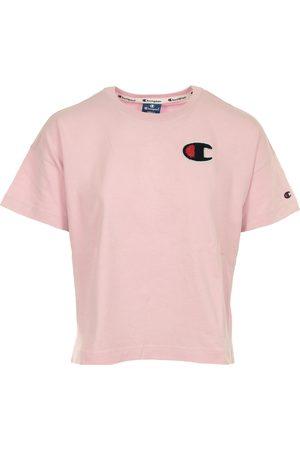 Champion Camiseta Crewneck T-shirt Cropped para mujer