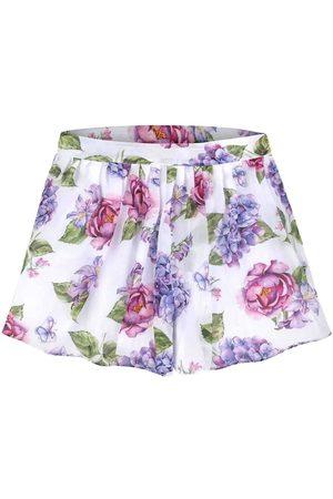Mayoral Short niña Falda pantalon gasa estampada para niña