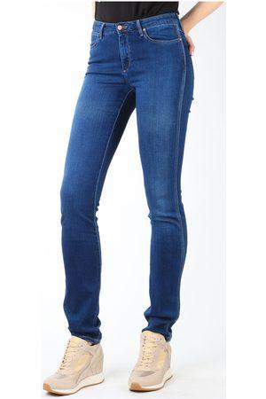 Wrangler Pantalón pitillo Jeans Cold Sky W26E8481V para mujer