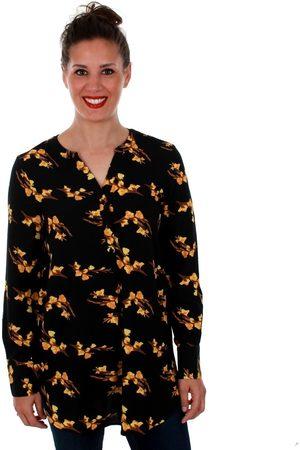 Vero Moda Mujer Túnicas - Túnica 10201931 VMSAGA LS TUNIC BLACK VIGGA BL para mujer