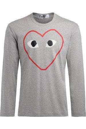 Comme des Garçons Camiseta manga larga Camiseta de hombre manga larga para hombre