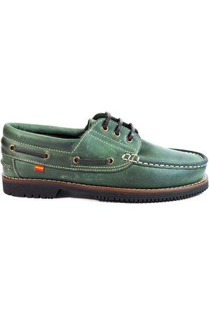 La Valenciana Hombre Loafers - Náuticos Zapatos Línea Apache Cordón para hombre
