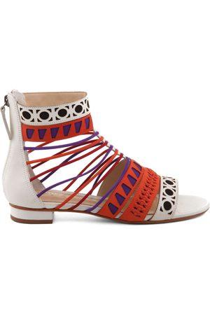 Schutz Sandalias Sandálias Geometric Colorful para mujer