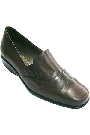 Pomares Vazquez Mocasines Zapatos mujer con pala alta con gomitas para mujer