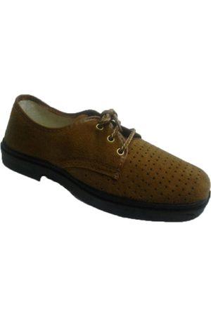 Vulsega Zapatos Hombre Zapato trabajo cordones serraje calado para hombre