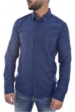 Goldenim Paris Camisa manga larga 1022 - Hombres para hombre