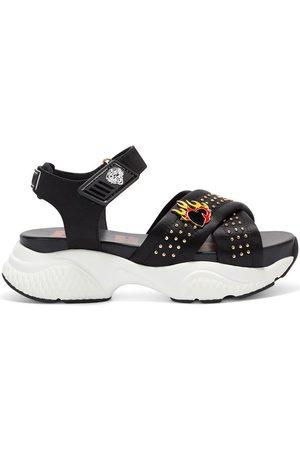 ED HARDY Sandalias - Flaming sandal black para mujer