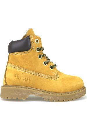 Didiblu Botines botines amarillo cuero de ante marrón AJ956 para niña