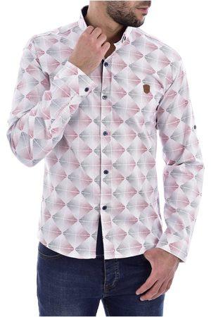 Goldenim Paris Camisa manga larga Camisas 1043 para hombre