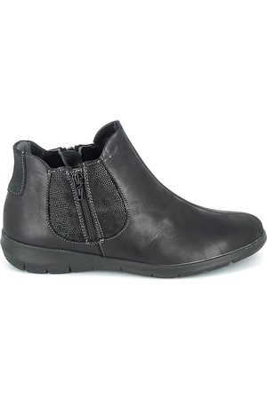 Boissy Botines Boots Noir texturé para mujer