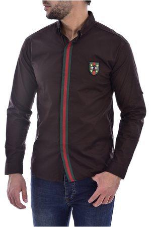 Goldenim Paris Camisa manga larga Camisas 1242 para hombre