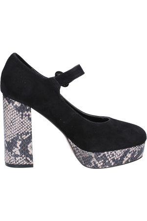 Emanuélle vee Zapatos de tacón de salón gamuza BX384 para mujer