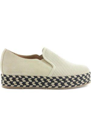 Cubanas Zapatos Mujer Alpargata Kitty410 Bone para mujer