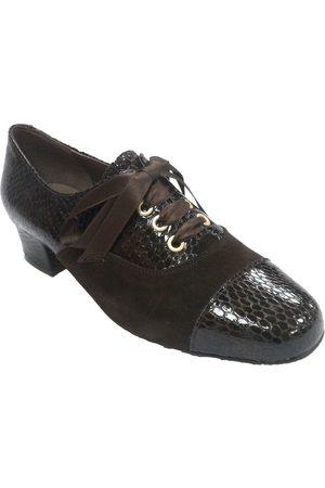Roldán Zapatos Mujer Zapato mujer combinado ante y charol para mujer