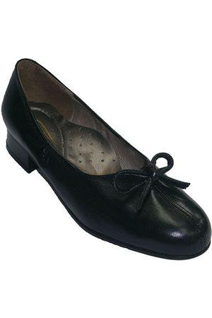 Roldán Bailarinas Zapatos ancho especial con tacón abertur para mujer