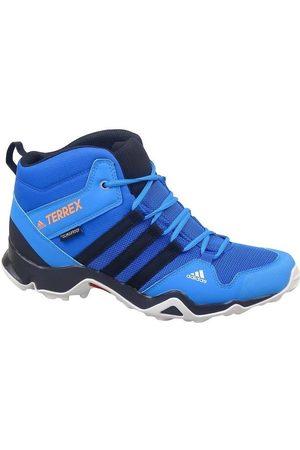 adidas Zapatillas de senderismo Terrex AX2R Mid CP para niño