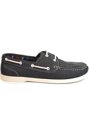 La Valenciana Hombre Loafers - Náuticos Zapatos 2008 Marino para hombre