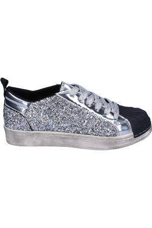 Holalà Zapatillas sneakers glitter charol para niña