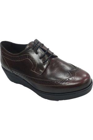 Sigo Zapatos Mujer Zapato mujer con cordones cuña tipo ingl para mujer