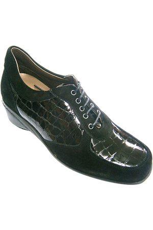 Roldán Zapatos de vestir Zapato mujer combinado ante y charol para mujer
