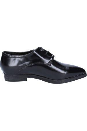 Francesco Milano Zapatos de vestir elegantes cuero BX328 para mujer
