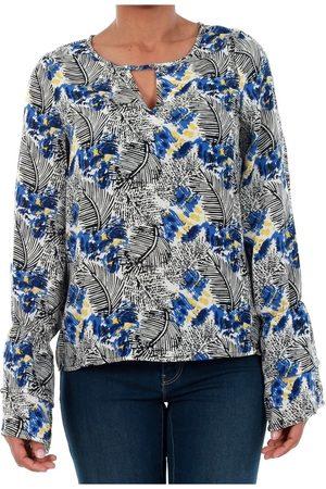Vero Moda Camiseta manga larga 10191090 VMMOLLY LS TOP SURF THE WEB para mujer