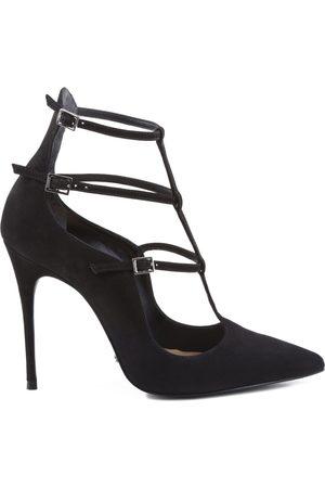 Schutz Zapatos de tacón SCARPIN REDESIGNED MULTI STRAPS BLACK para mujer