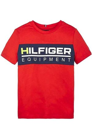 Tommy Hilfiger Camiseta TH PANEL TEE para niño