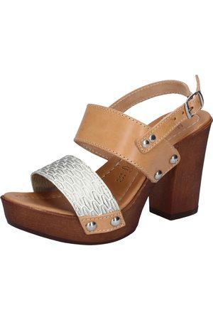 Made in italia Sandalias sandalias platino cuero BY516 para mujer
