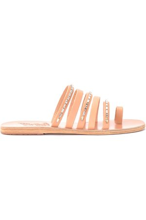 Ancient Greek Sandals Sandalias Sandalia modelo Niki Diamonds de piel para mujer