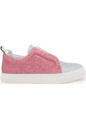 Pierre Hardy Zapatos JS02 SLIDER GLITTER SILVER PINK para mujer