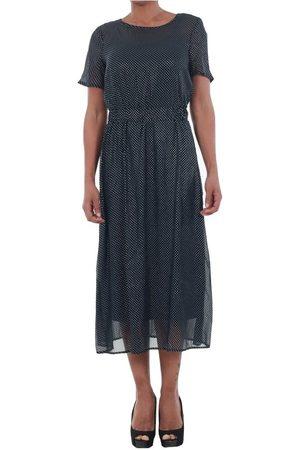 Vero Moda Vestido largo 10195121 VMSILVIA DOT NAVY BLAZER/SILVER DOTS para mujer