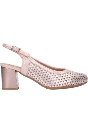 Pitillos Zapatos de tacón 5557 Mujer Nude para mujer