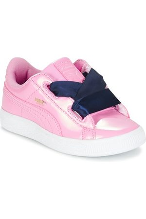 Puma Zapatillas BASKET HEART PATENT PS para niña