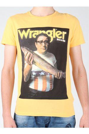 Wrangler Camiseta T-shirt S/S Graphic T W7931EFNG para hombre