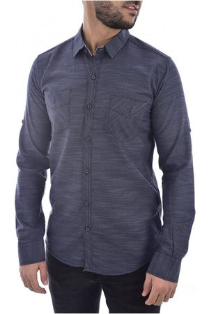 Goldenim Paris Camisa manga larga Camisas 1022 para hombre