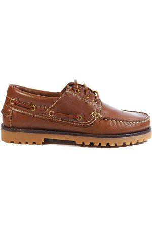 La Valenciana Náuticos Zapatos 848 Miel para hombre