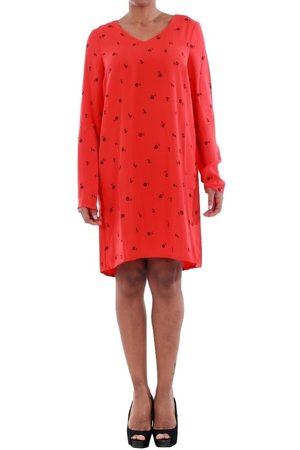 Vero Moda Vestidos 10191185 VMSISSY 3/4 MINI DRESS D2 LCS FLAME SCARLET para mujer