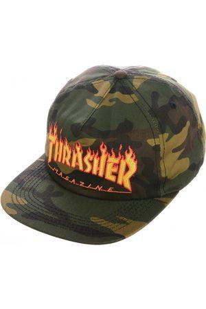 Thrasher Gorra Cap flame snapback para hombre