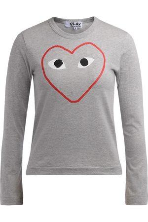 Comme des Garçons Camiseta manga larga Camiseta de mujer manga larga de para mujer