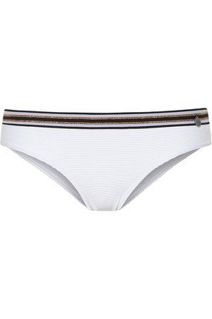 Beachlife Bañador Medias de traje baño White para mujer