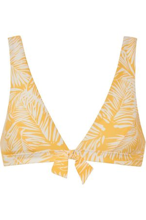 Beachlife Bañador Palm Glow triángulo de traje baño sin armazón para mujer