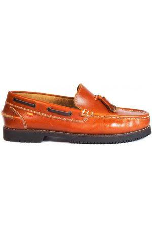La Valenciana Mocasines Zapatos Apache Montijo Miel para mujer